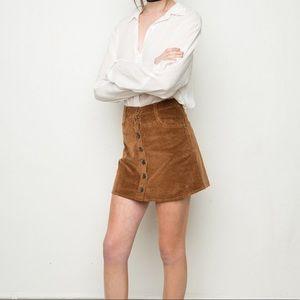 Nanna corduroy skirt